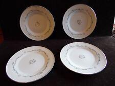 "4 Vintage Bread & Butter Plates in Petite Bouquet by Signature Japan 6 1/4"" D"