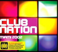CLUB NATION MIAMI 2002 various (2X CD, mixed) Ministry of Sound, trance, house