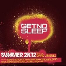 GET NO SLEEP-SUMMER 2K12 CD NEW+ MIT DAVID GUETTA, SWEDISH HOUSE MAFIA UVM.