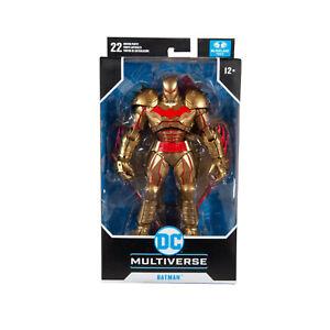 NEW McFarlane Toys DC Multiverse Action Figure Batman Hellbat Suit Gold Edition