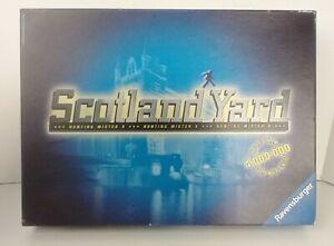 SCOTLAND YARD Board Game Strategy Hunting Mr. X Ravensburger 2000