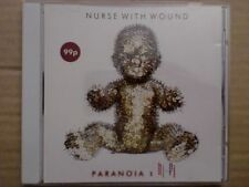 NURSE WITH WOUND - PARANOIA / CD / 2009 / UK / UNITED DIRTER / WHITE TRAY
