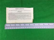 John Nicholson Organ Builder Leeds Road Bradford 1834 genuine press cutting