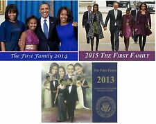 "(3) New - First Family  (2013, 2014, 2015)  Commemorative   ""12 Page  Calendars"