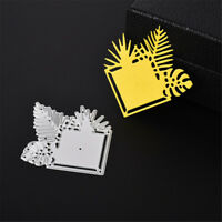 Small Saplings Metal Cut Dies Stencils For DIYScrapbooking DIY Album CardsFDEC