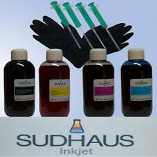 Set Refilltinte 4x100ml ORIGINAL Sudhaus Tinte Nachfülltinte für Epson T1811-14