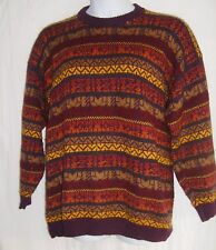 The Alpaca Connection Multi-Color Hand Made Peruvian Sweater Size XL