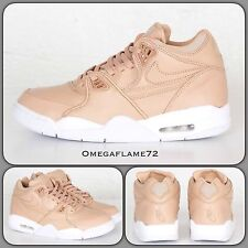 NIKELAB Air Flight 89 Qs vachetta Cuero 828295-200 UK 11 EU 46 nos 12 Nike