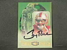Jerry Rice 2000 Donruss Preferred QBC Pen Pals Autograph San Francisco 49ers #28