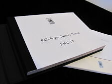 2013 Rolls-Royce Ghost Owners Manual Set #O533