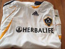Authentic ADIDAS LA GALAXY David Beckham Herbalife MLS Futbol Soccer Size L