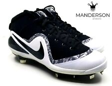 Nike Men's Force Air Trout 4 Pro Baseball Cleat Black White 917920-001 Size 12