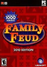 BRAND NEW SEALED PC Game -- Family Feud: 2010 Edition (PC CD-ROM, 2009)
