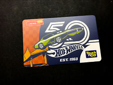 Malaysia Touch n Go card > Hot Wheels 50th Anniversary 2018 for collection