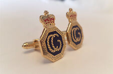 Pair of HM Coastguard Gold Finish Cuff links