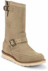 Chippewa 1901M02 Men's 11-in Suede Highlander Boot Sand