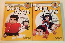 KI & HI tomes 1 à 2 Tran Antigny manga en français série