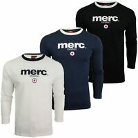 Mens Long Sleeved T-Shirt by Merc London 'Fight'