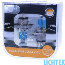 GE Lighting Megalight Ultra +150% mehr Licht auf der Strasse Maximale Leistung