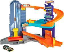 Hot Wheels Speedtropolis Playset Push Around Play Racing Vehicle Kids 4 Years