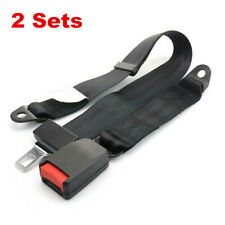 Automatic Retractable 2 Point Safety Seat Belt Lap Seatbelt For Car Truck Pickup