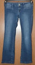 Junior Womens Prefaded Vanilla Star Straight Leg Jeans Size 11 very good