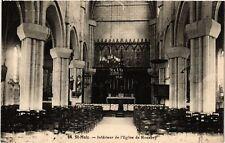 CPA  St-Malo - Intérieur de l'Eglise de Rocabey  (584306)