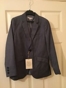 Heirloom Colection Boys Grey Shark Suit (only Jacket) Size 9 Years