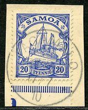 Samoa Mi 10  Luxusbriefstück  Fagamalo  40,-