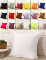 Square Home Sofa Decor Zipper Pillow Cover Case Cushion Cover