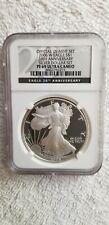 2006 - W Eagle  20th Anniversary  Silver Dollar  Proof 69 Ultra Cameo