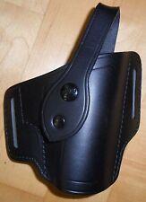 AKAH Polizei Holster Quicksure NEU P5 Gürtelholster Leder schwarz