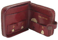 GENTS LEATHER TRAY PURSE WITH COIN SLOTS 1792 by TOP BRAND