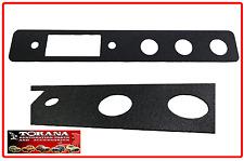 Torana LH/ LX Radio Fascia repair plate.