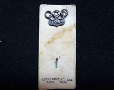 1964 Olympic Games Tokyo Original Collectible Pin Badge Button VERY RARE/NICE!!!