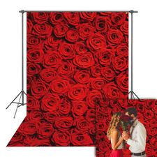 8x12 FT Leaf Vinyl Photography Backdrop,Retro Style Rose Bouquets in an Artistic Composition with Buds and Blooms Background for Baby Birthday Party Wedding Studio Props Photography