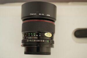 Canon FD 1,2/50mm L