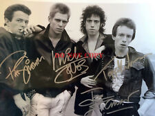 The CLASH Signed 8x10 Autographed Photo Reprint