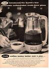1959 Silex World's First Automatic Coffeemaker Made From Glass Chicago Print Ad photo