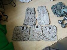 USMC Desert Marpat Uniforms Tops & Pants Lot of 5 M-Short-Regular