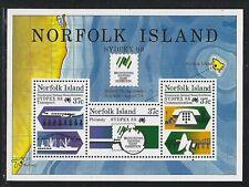 1988 Norfolk Island Scott #439a (SG #447) - SYDPEX 88 Souvenir Sheet - MNH