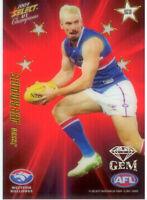 2009 Select AFL Champions Stars Red Gem Card SG31: Jason Akermanis (Bulldogs)