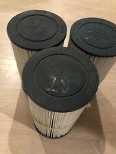 Lot of Three (3) Pleatco Filters Pjw23 Hot Tub Jacuzzi Filters!
