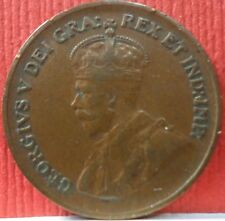 Canadian 1 Cent George V 1932 KM # 28  A-720