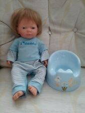 DOLLS WORLD - BOY DOLL + MUSICAL POTTY (Inc BATTERIES)
