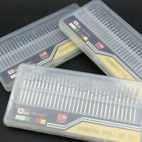30PCS Diamond Nail Drill Bit Set Nail Gel Clean Files Electric Manicure Machine