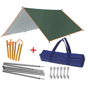 Outdoor Camping Waterproof Tarp Tent Sunshade Shelter Beach Garden Picnic Canopy