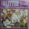Master Pieces Jigsaw Puzzle 500 Piece Holiday Glitter HOLIDAY MISCHIEF Kittens
