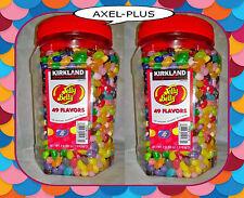 8 LB Original Jelly Belly Beans - 49 Flavors - Kirkland (2 x 64 oz.)  FRESH
