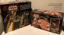 Star Wars Episode 1 Trade Federation Droid Fighters & OPEE and QUI-GON JINN